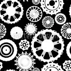 Motion Gear Repeat Pattern