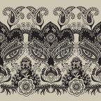 Marokko Bordüren Muster Design