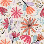 Fantasy Meadow Flower Pattern Design