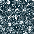 Beauty Of The Meadow Vector Pattern