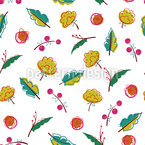 Early Autumn Seamless Vector Pattern Design