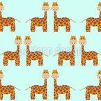 Giraffen Nahtloses Vektormuster