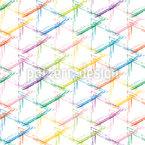 Buntes Grunge-Raster Muster Design