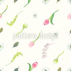 Flower Dream Seamless Vector Pattern Design