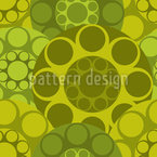 Creative Sixty Circles Seamless Vector Pattern Design