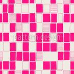 手描き正方形 シームレスなベクトルパターン設計