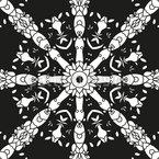 Im schwarzweißen Kreis drehen Designmuster