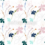 Chicory and chestnut tree leaves Vector Design