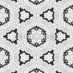 Hexagon Sterne Vektor Design