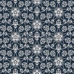 Geometrie der Blumen Nahtloses Vektormuster