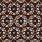 Floral Fantasy Ornaments Seamless Vector Pattern Design
