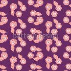 Tropisches Blumenarrangement Vektor Muster