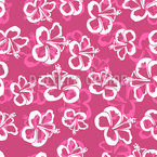 Hawaiian Hibiscus Blossoms Repeat