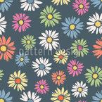 Daisies Meadow Pattern Design