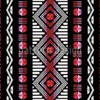 Marokkanische Webe Kunst Nahtloses Muster