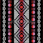 Moroccan Weave Art Seamless Pattern