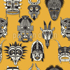 The Ancient Gods Seamless Vector Pattern Design
