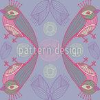 Mystic Birdkiss Pattern Design