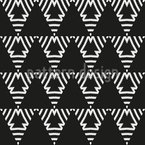 Upside Down Seamless Vector Pattern