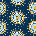 Playful Geometry Seamless Vector Pattern Design