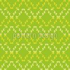 Rhombs of Curlicues Pattern Design