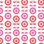 Blume-Illusion Nahtloses Vektormuster