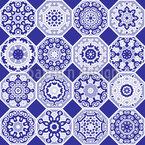 高調波タイル六角形 シームレスなベクトルパターン設計