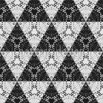 Mystische Dreiecke und Sechsecke Vektor Muster