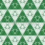お祝いのクリスマスツリー シームレスなベクトルパターン設計