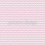 Batidas Onduladas Design de padrão vetorial sem costura