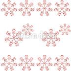 Zarte Blumen Nahtloses Vektor Muster