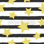 New Stars And Stripes Vector Pattern