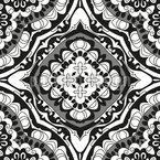 装飾花絵 シームレスなベクトルパターン設計