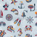 Über den Ozean Designmuster
