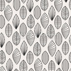 Puristic leaves Pattern Design