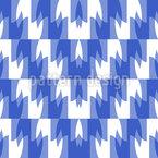 Zickzack Stufen Muster Design