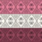 装飾された装飾用ストライプ シームレスなベクトルパターン設計