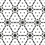 Network Of Triangles Pattern Design