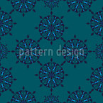 Intricate Circles Seamless Vector Pattern