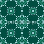 Knitted Doily Vector Pattern