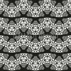 Waved Segments Seamless Vector Pattern Design