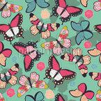 Schmetterlinge mit Schatten Musterdesign