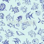 Meeres-Reichtum Musterdesign