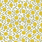 Golden Glow Repeating Pattern