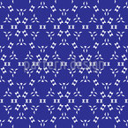 Hexagonal Airy Stars Seamless Vector Pattern