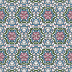 Six Around One Seamless Vector Pattern Design