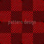 Planet Op Art Designmuster