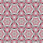 Bounded Blossoms Seamless Vector Pattern Design