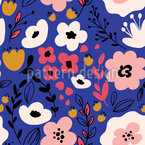 Groovy Blossom Mix Vector Design