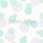 Dots On Dots Seamless Vector Pattern Design